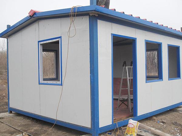 彩钢活动房建造